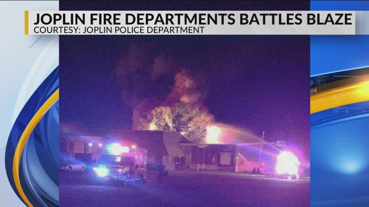 Joplin Fire Crews Battle Several Explosions at Structure Fire