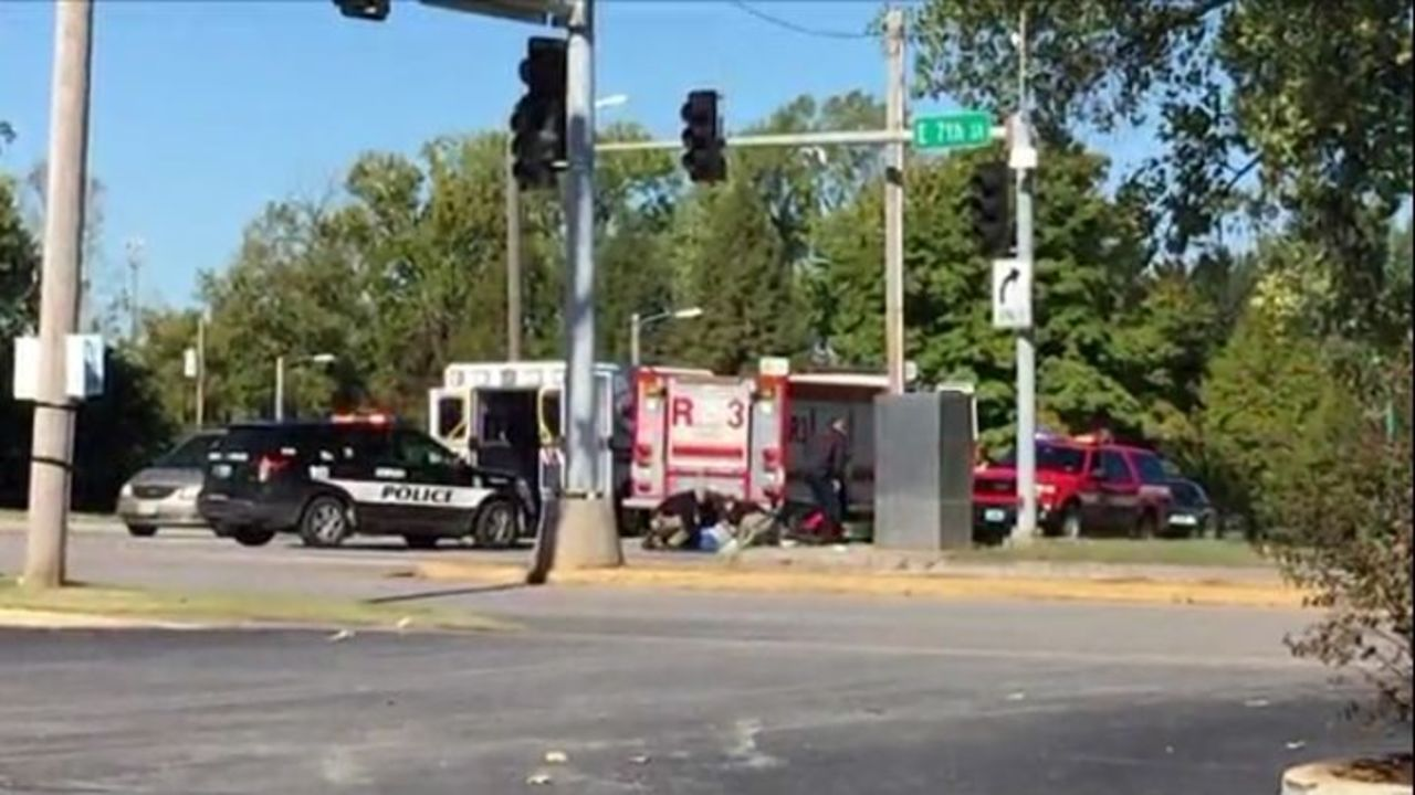 Joplin Fire Truck Hits Bicyclist, Causes Non-Life Threatening Injuries