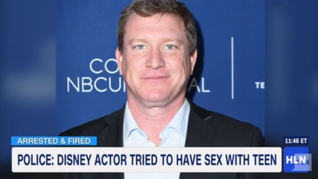 Disney Fires Actor After Police Say he Tried to Meet a 13-Year-Old For Sex