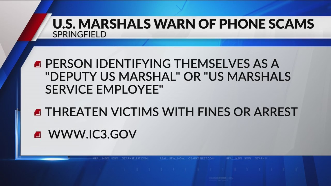Scammers Acting as US Marshals