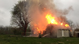 Vacant House Fire brings four districts together to fight blaze