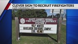 Scott County Fire Protection District adds humor to recruitment pitch