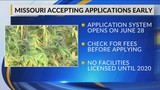 Medical Marijuana applications to be offered six days earlier than expected