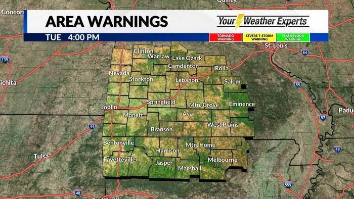 Area Warnings