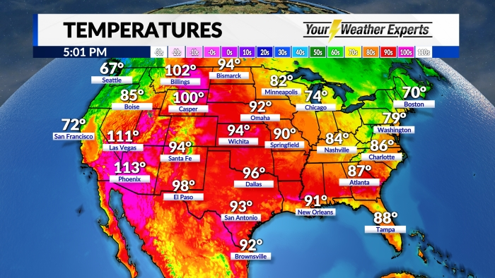 Temperatures National